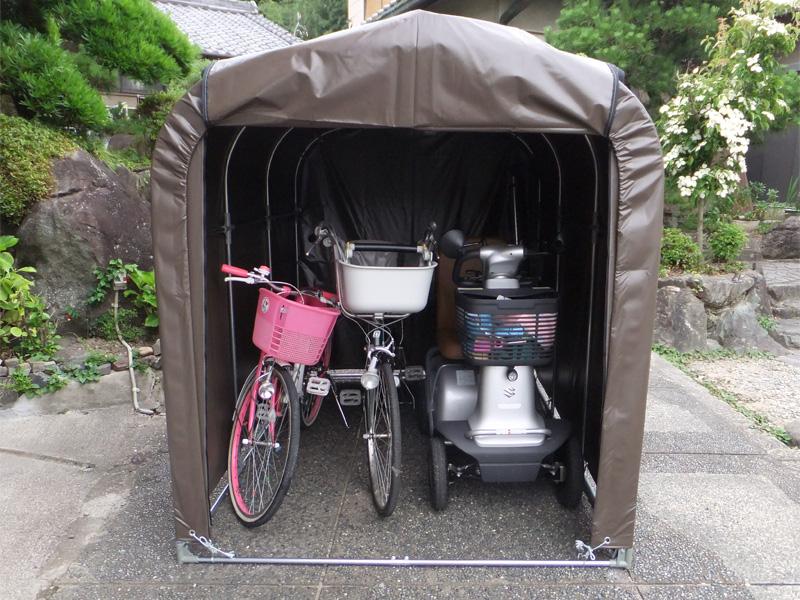 サイクルハウス3台用-SB型